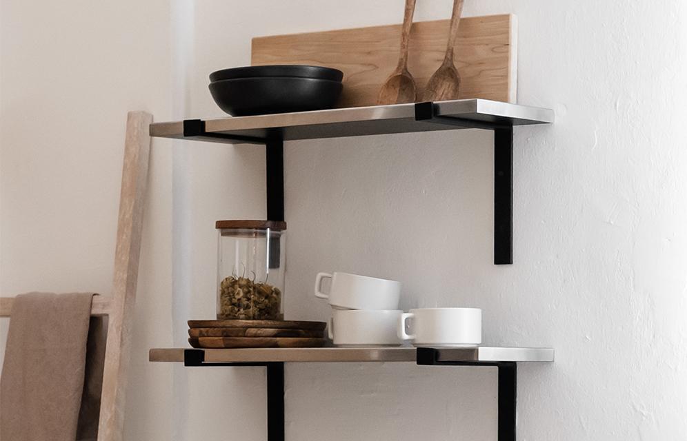 Furniture design - L SHELVES
