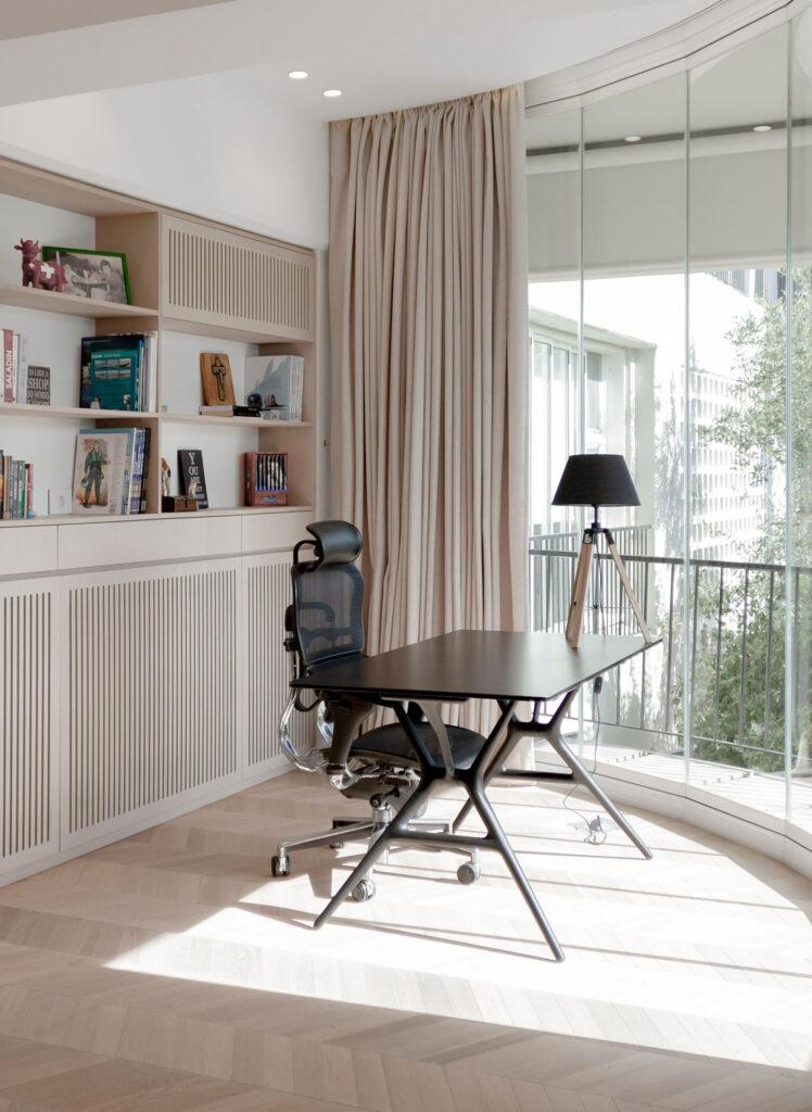 Apartment S - wood flooring