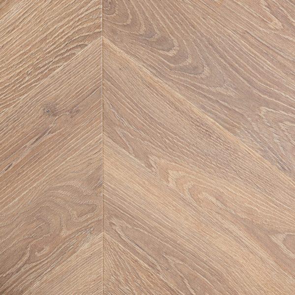Laminate Flooring - Chevron Burnt Oak