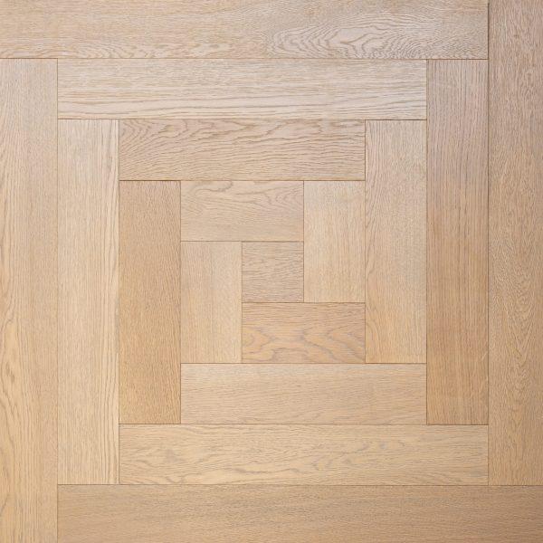 Wood Parquet Flooring - square