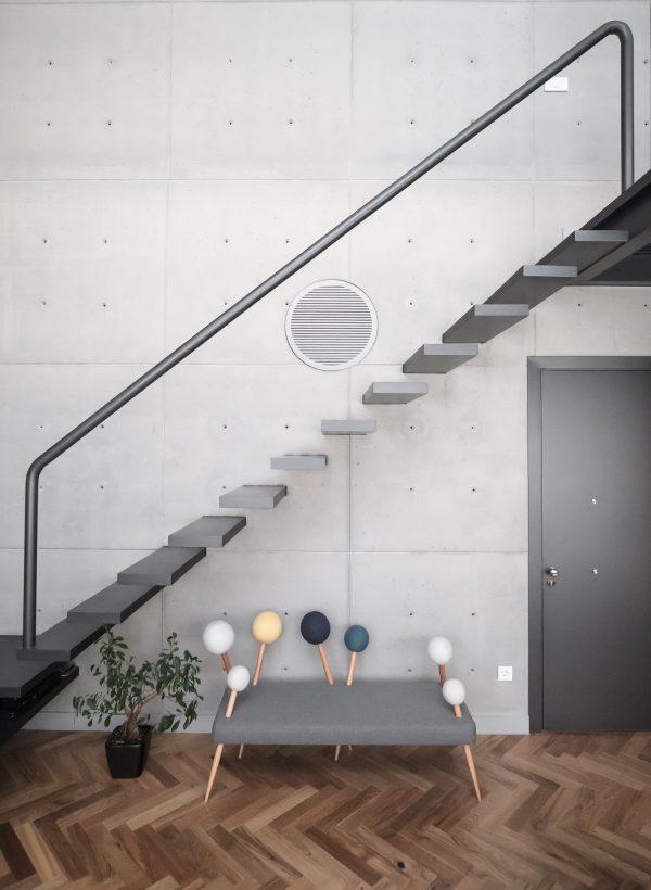 parquet flooring and kitchen design